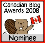 Canadian Blog Award nominee