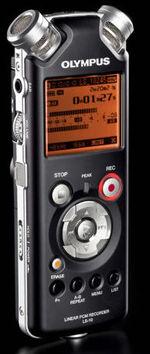 Olympus ls-10 recorder