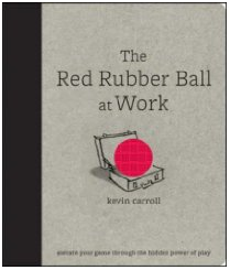 Red Rubber Ball at Work