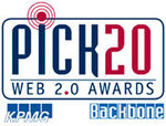 PICK20 Web 2.0 Awards
