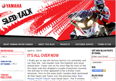 Yamaha sled talk